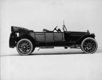 1914 Packard 2-38 two-toned phaeton, right side, top folded