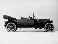 1914 Packard 3-48 two-toned phaeton, right side, top folded