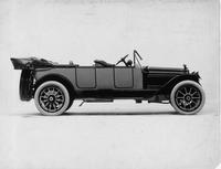 1914 Packard 2-38 two-toned special touring car, right side, top folded