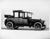 1914 Packard 2-38 landaulet, five-sixth front view, right side, quarter collapsed