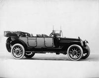 1914 Packard 2-38 two-toned salon touring car, right side, top folded