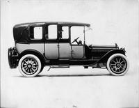 1914 Packard 2-38 cab-side two-toned landaulet, quarter closed