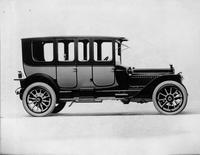 1914 Packard 48 two-toned salon brougham, right side view