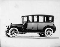1914 Packard 2-38 two-toned imperial limousine, five-sixth front view, left side