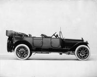 1915 Packard 3-38 two-toned standard touring car, left side, top folded