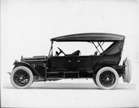1916 Packard 1-35 touring car, left side, top raised