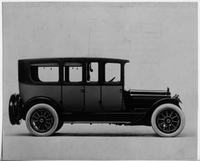 1917 Packard two-toned imperial limousine, right side view