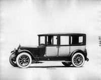 1918 Packard two-toned imperial limousine, nine-tenths front left view