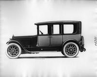 1918 Packard two-toned imperial limousine, left side view