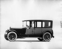 1918 Packard two-toned limousine, nine-tenths front left view