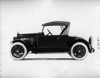 1918 Packard runabout, left side view, top raised