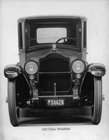 1918-1919 Packard brougham, front view