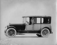 1920 Packard two-toned landaulet, seven-eights left front view