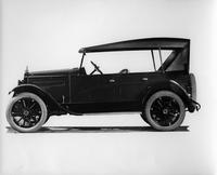 1921 Packard touring car, left side view, top raised