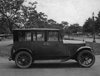 1921-1922 Packard sedan, parked on residential drive, right side view