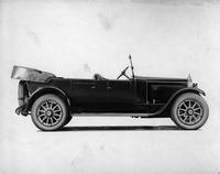 1920 Packard touring car, right side view, top lowered