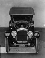 1920-1923 Packard touring car, front elevation view, top raised