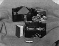 1920-1923 Packard vanity case and smoking set