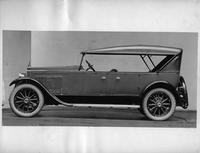 1922-1923 Packard touring car, left side view, top raised