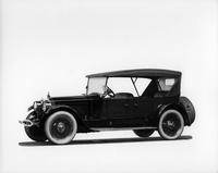 1920-1923 Packard twin six special, three-quarter left front view, top raised