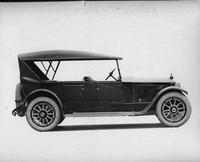 1920-1923 Packard touring car, right side view, top raised