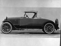 1920-1923 Packard special roadster by Fleetwood,  left side view, top raised