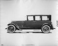 1923 Packard sedan, left side view
