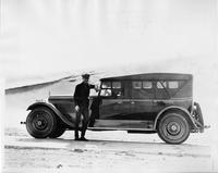 1924 Packard touring car on Col. Jesse G. Vincent's western trip