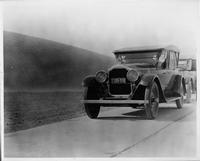 1924 Packard touring car in desert on Col. Vincent's trip