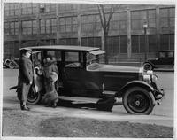 "1924 Packard, Gilda Gray with her new ""8"" sedan"