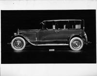 1924 Packard sedan, left side view