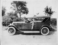 1924 Packard touring car with Packard salesman Tom B. Reed, Oklahoma City, Okla.