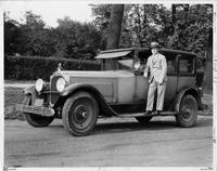 1924 Packard sedan driven 102, 350 miles by owner Mr. N. Harper Steward of Philadelphia