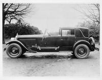 1925-1926 Packard faux cabriolet, left side view