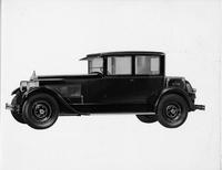 1925-1926 Packard coupe, seven-eights left front view