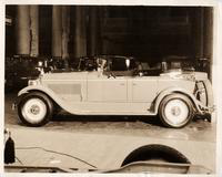 1925-1926 Packard special sport phaeton at New York City 26th National Automobile show