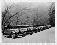 1927 Packards used for Queen Marie of Romania's 1926 visit to the United States