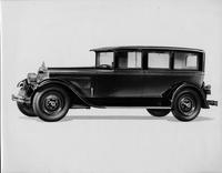 1927 Packard sedan limousine, nine-tenths left front view