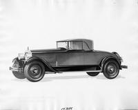 1927 Packard convertible coupe, seven-eights left front view
