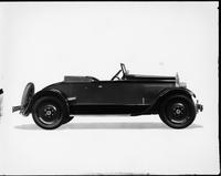 1927 Packard runabout, right side view, top lowered
