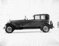 1927 Packard glass quarter town cabriolet, left side view