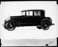 1927 Packard club sedan, seven-eights left front view