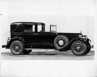 1928 Packard all weather stationary town cabriolet, seven-eights right front view