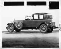 1928 Packard all weather town car, three-quarter left rear view