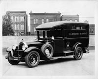 1928 Packard special radio van built for U.S. Department of Commerce