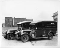 1928 Packard special radio vans built for U.S. Department of Commerce