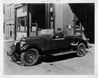 1928 Packard used for Butte Fire Department chief's car