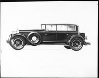 1928 Packard Murphy clear vision sedan, nine-tenths left front view