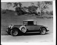 1928 Packard convertible coupe photographed in Central Park, New YorkC.