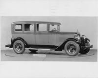 1928 Packard sedan, four-fifths right front view